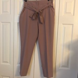 New York & co 7th Avenue pink pants size 10